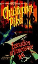 Execution of Innocence by Christopher Pike (1997, Paperback)