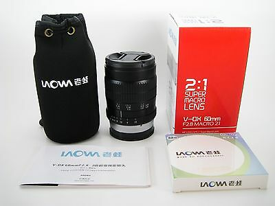 Laowa Venus 60mm Macro 2:1 Sony A Mount Manual Focus Lens!  MINT!!!!!