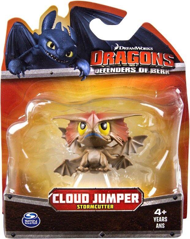 Drachen Grüneidiger berk wolke springer 3 - zoll - figur (stormcutter]