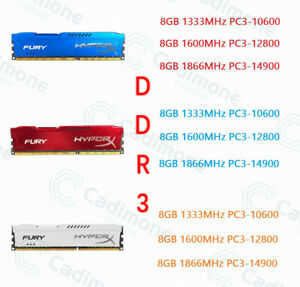 3-couleurs-8-Go-DDR3-1333-1600-1866-MHz-DIMM-RAM-de-bureau-pour-Kingston-HyperX