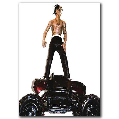 Travis Scott Rodeo Hip Hop Trap Music Ablum Art Hot 24x36in FABRIC Poster N3699