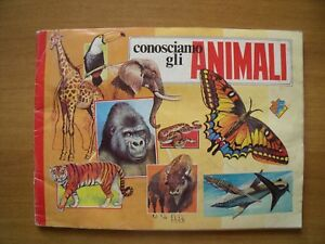 CONOSCIAMO GLI ANIMALI 1983 ed Flash italy sticker figurina sfuse a scelta