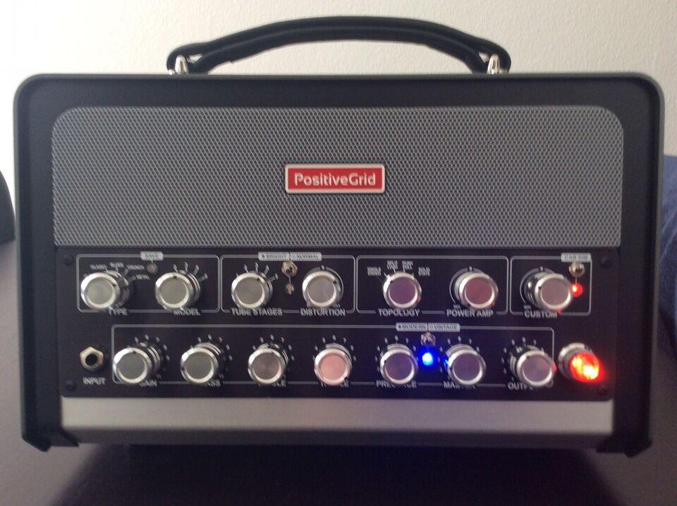Guitarforstærker, Positive Grid Bias Head, 600 W