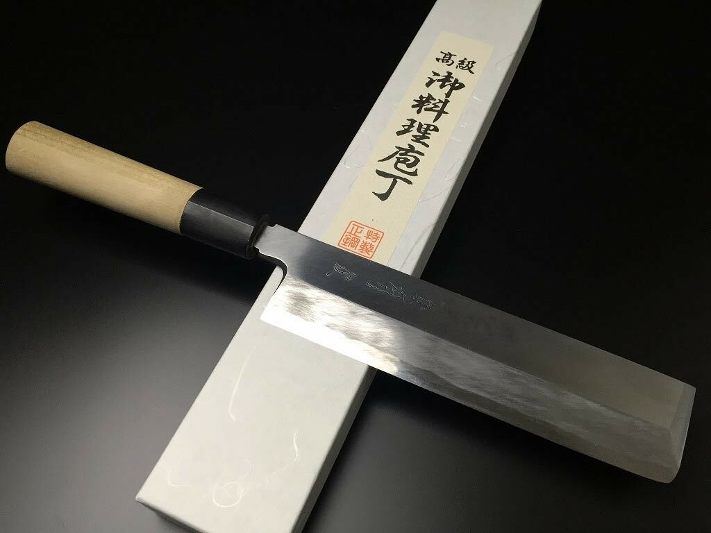 ARITSUGU Weiß Steel Usuba Kitchen Chef Vegetable Knife 150mm5.9 Samurai AT096bs