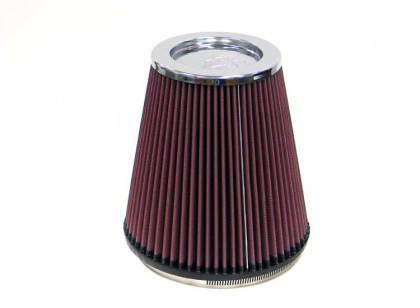 "K/&N RF-1044 Universal Air Filter Round Tapered  6/"" Flange 7.5/"" Base 5/"" top"