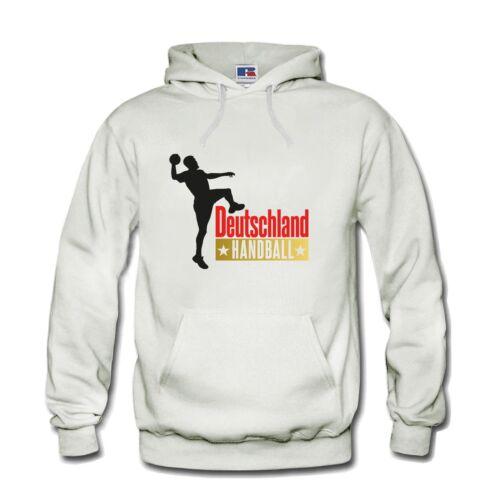 Hoodie Kapuzenpulli Pullover Handball Deutschland WM  Fan S-3XL NEU