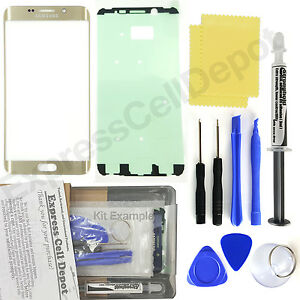 Gold-Samsung-Galaxy-S6-Edge-Plus-G928-Replacement-Front-Screen-Glass-Repair-Kit
