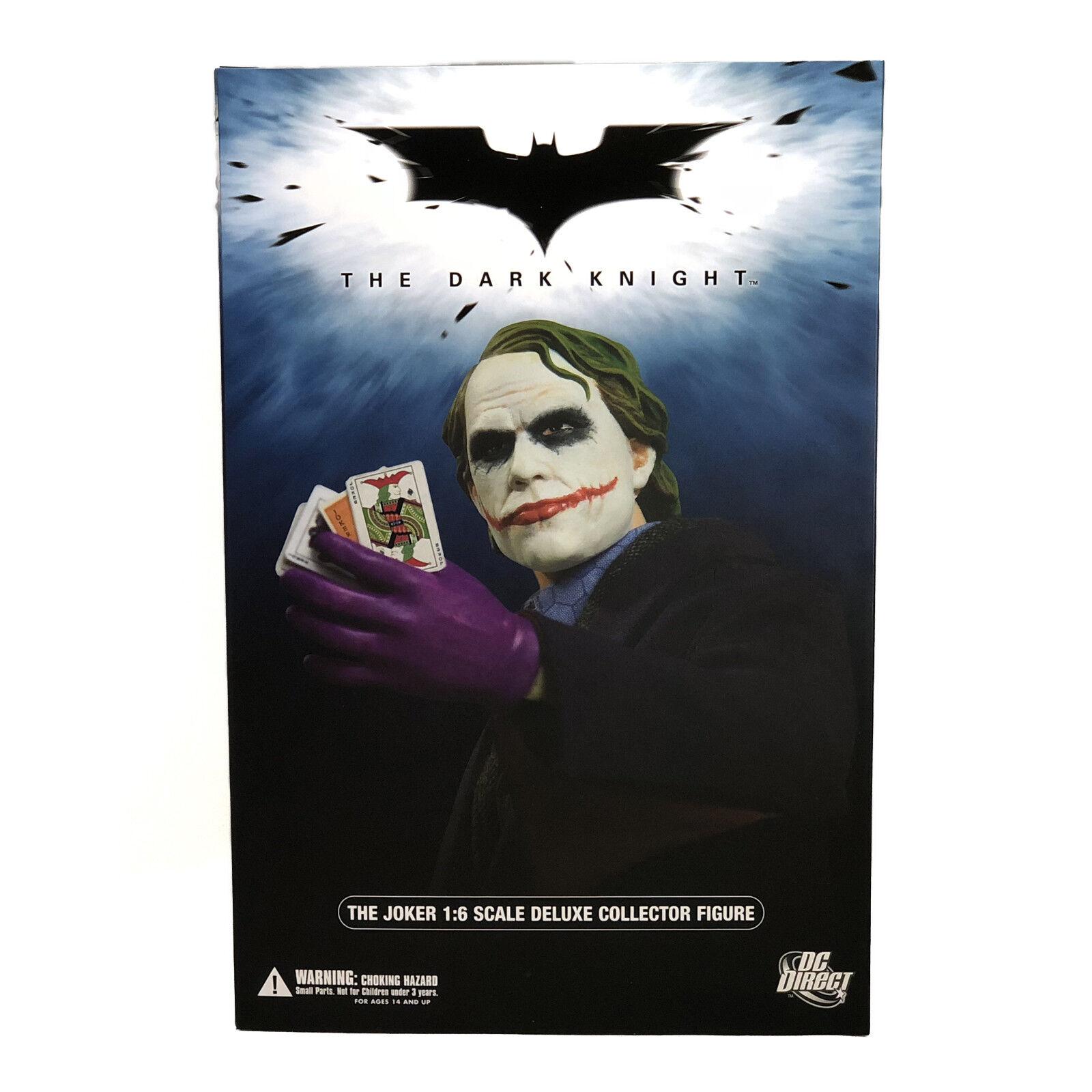 Dc direkt die joker batman dark knight heath ledger deluxe abbildung bis 6 skala 2008