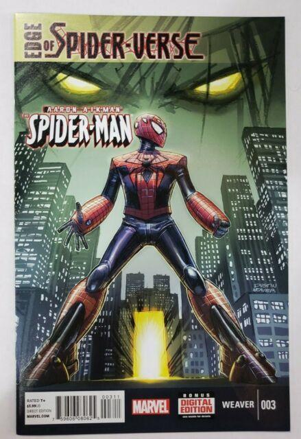 Edge of Spider-Verse #3 Aaron Aikman  (Marvel 2014) NM- @