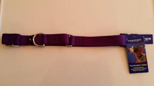 "PURPLE Large 1/"" Martingale Premier NEW Dog Collar"