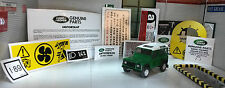 Land Rover Defender 90 110 300TDi Decal Sticker Label Under Bonnet Engine Set