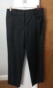 Ann-Taylor-Signature-Womens-Dress-Pants-Black-Size-12