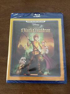 THE BLACK CAULDRON Blu-Ray Disney Movie Club Exclusive - New & Sealed