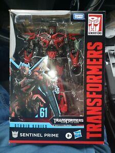 Transformers Toys Studio Series 61 Voyager Class Dark of the Moon Sentinel Pri