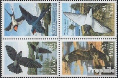 Tireless Palau-islands 864-867 Block Of Four Never Hin Unmounted Mint complete.issue.