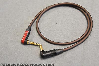 3m Instrumenten Kabel Gitarren Kabel OFC-Kupfer  2 Stück  je 3 m low noise