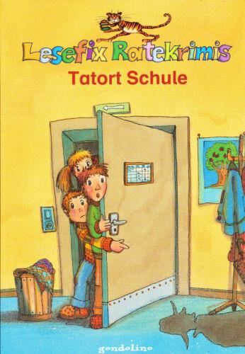 1 von 1 - Lesefix Raterkrimis Tatort Schule gondolino (R7)