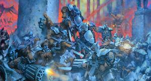 Warzone Target Games 1990's Sci Fi 28mm metal castings new Shelving