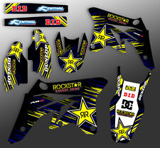 2007 RMZ 450 GRAPHICS KIT SUZUKI RMZ450 DECO DIRT BIKE DECALS DIRT BIKE STICKERS