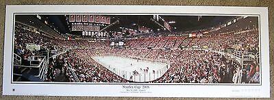 Detroit Red Wings 2008 Stanley Cup Panoramic @ Joe Lewis Arena - Large !