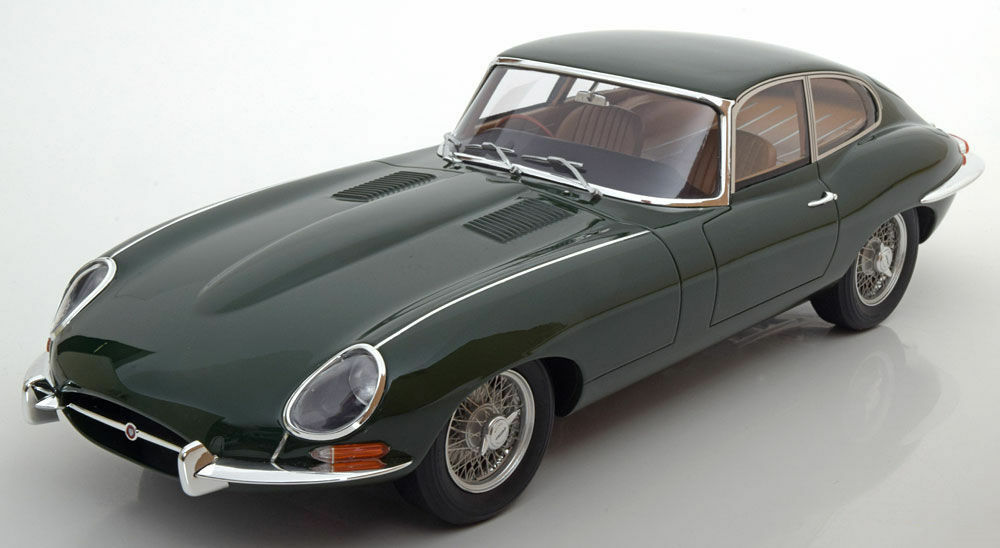 100% a estrenar con calidad original. GT Spirit 1964 Jaguar E-type 1 4.2L 4.2L 4.2L British Racing verde ZM050 300 un. Edición Limitada 1 12   promociones