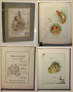 Lawson-Schlaukoepfchen-Alte-und-neue-Sinnsprueche-um-1890-Geschichten-Kinder-xy