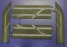 Vintage Tri-ang Scalextric clásico PT90 Parada Pit Lane Set (PT91, PT93, PT95)