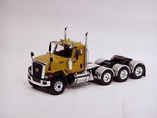 """Caterpillar CT680 8x4 Truck Tractor - """"YELLOW"""" - 1/50 - WSI"""