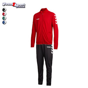 Hummel-Core-Polyesteranzug-Herren-Fussball-Trainingsanzug-Art-036893-032173