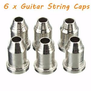 6Pcs-Musical-Temperament-Guitar-String-Caps-1-4-034-String-Ferrules-Telecaster