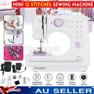 NEW Mini Multi-Function Electric Sewing Machine Portable Hand Held Desktop Home