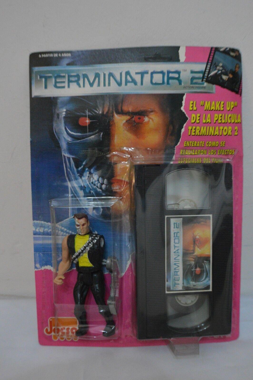 ULTRA RARE 1991 - ARGENTINA TERMINATOR  JOCSA MOC VHS SERIES