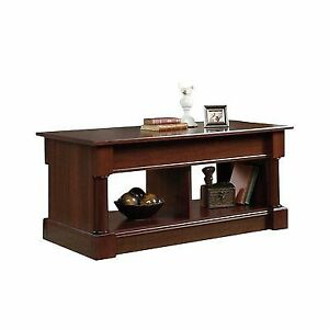 Sauder 420520 Palladia Lift Top Coffee Table In Cherry