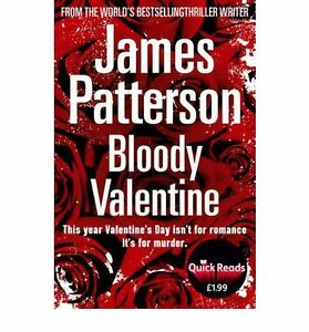 Bloody-Valentine-by-James-Patterson-Book-NEW-amp-Free-Post-AU