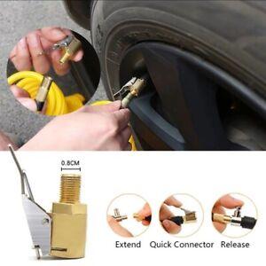 8MM-Car-Tyre-Wheel-Tire-Air-Chuck-Inflator-Pump-Valve-Clip-Connector-Adapter-RO
