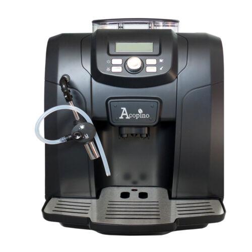 1 von 1 - Acopino Ravenna Kaffeevollautomat mit Textdisplay in schwarz