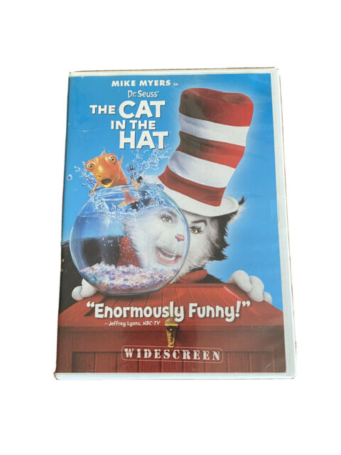Dr. Seuss' The Cat In The Hat (Widescreen Edition) - DVD - B3G1!!!