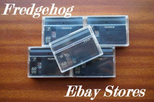 5 X Alta Calidad FUJI DVM-60 Mini DV Digital Video Camcorder las cintas//cassettes
