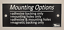 """1//2/"""" x 1/"""" CUSTOM Laser ENGRAVED Plastic NAMEPLATE Personalize Sign Name Plate"""