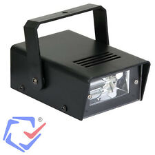 Stroboskop Mini LED  Disco Licht Lampe Strobe Blitzer Kugel Stroboskoplicht TOP