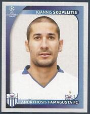 PANINI UEFA CHAMPIONS LEAGUE 2008-09- #050-ANORTHOSIS FAMAGUSTA-I SKOPELITIS