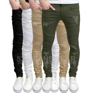 SoulStar Mens Boys Skinny Stretch Jeans