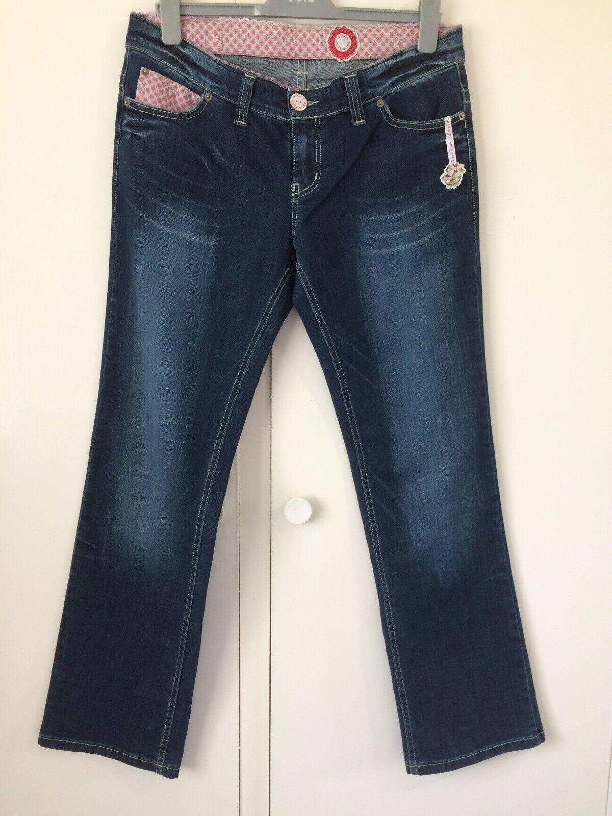 MesLes dames Avoca Anthology foncé coupe droite Sunshine après la pluie Jeans-Taille 14 16