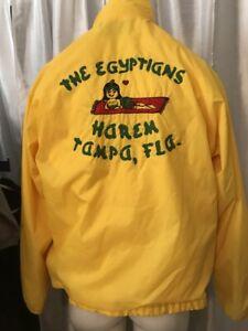 EGYPTIANS-HAREM-Shriners-Swingster-World-Wearables-Nylon-Jacket-Shawnee-Mission