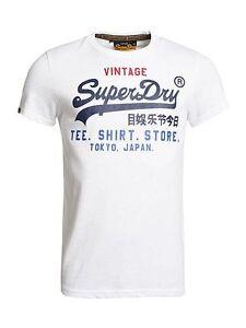 Image is loading Superdry-Mens-Shirt-Shop-Tri-Tee-Vintage-Premium-