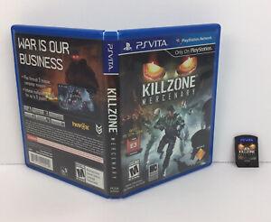 Killzone-Mercenary-Sony-PlayStation-Vita-USA-copy-PS-Vita-Fast-Shipping