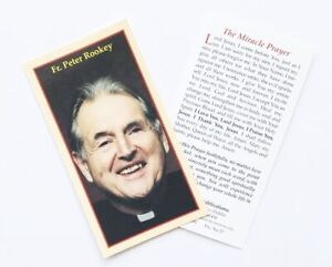 Details about FR FATHER PETER MARY ROOKEY - THE MIRACLE PRAYER - PRAYER CARD