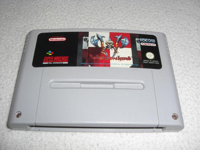 Weapon Lord SNES Super Nintendo Spiel nur das Modul