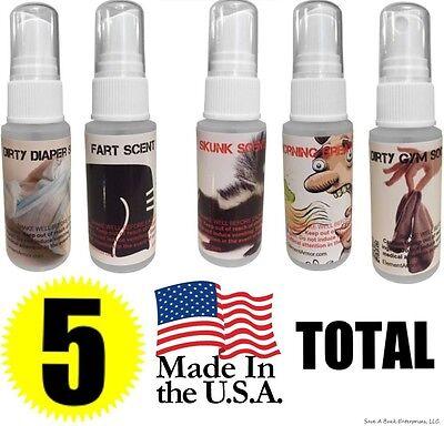 Fart Spray - Skunk - Bad Breath - Stink Socks - Diaper Ass - Liquid Bomb PRANKS