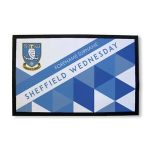 Sheffield-Wednesday-F-C-Personalizado-Felpudo-Estampado